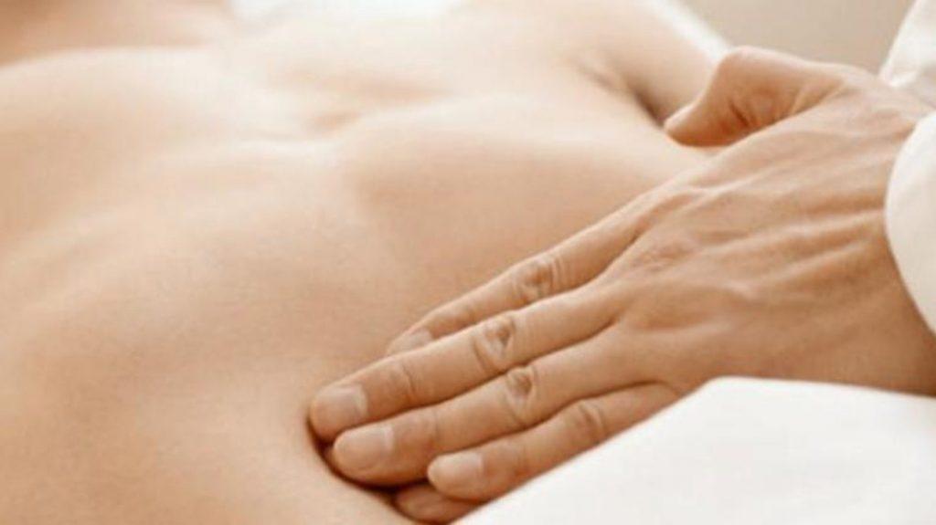 Tratamiento de osteopatía en el estomago Bilbao