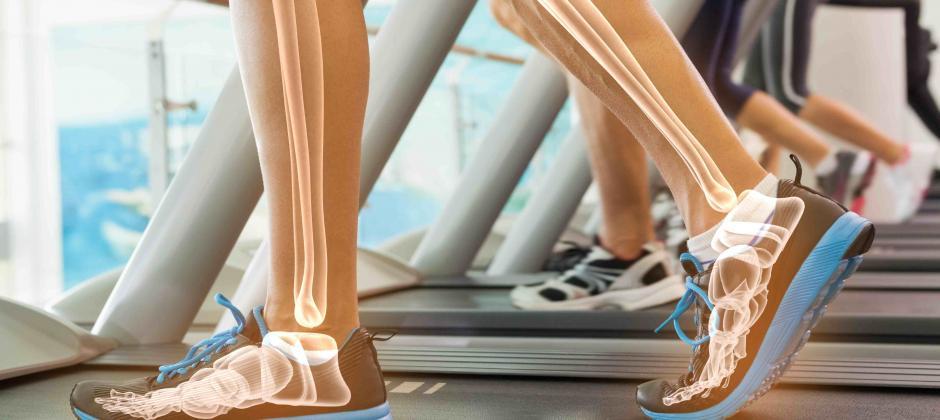 rehabilitación pie y tobillo