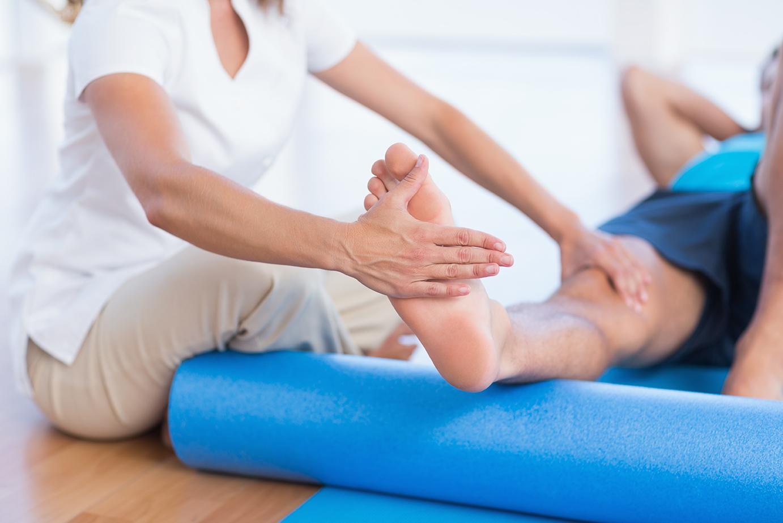 fisioterapia pie y tobillo